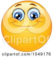 Royalty Free RF Clip Art Illustration Of A Smiley Emoticon