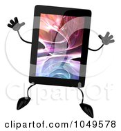 3d Tablet Character Jumping