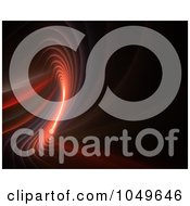 Royalty Free RF Clip Art Illustration Of A Spiraling Fractal Design