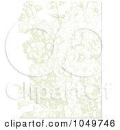 Royalty Free RF Clip Art Illustration Of A Pastel Lilac Invitation Design Background