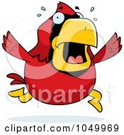 Red Cardinal Panicking