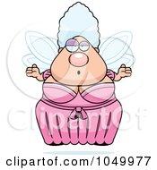 Plump Fairy Godmother Shrugging