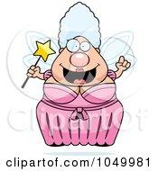Plump Fairy Godmother With An Idea