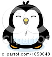 Royalty Free RF Clip Art Illustration Of A Baby Penguin
