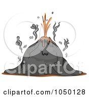 Volcano Before Eruption