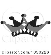 Black And White Crown Design 3