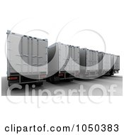 3d Freight Trailers