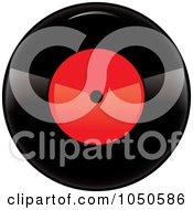 Black And Red Vinyl Record Album 1