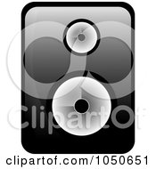 Royalty Free RF Clip Art Illustration Of A Music Speaker