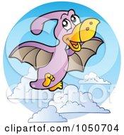 Flying Pterodactyl Logo