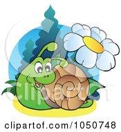 Snail And Daisy Logo