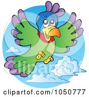 Parrot In A Blue Sky Logo
