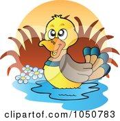Wading Mallard Logo