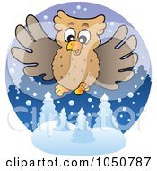 Winter Owl Logo