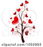Valentine Doodle Tree 3