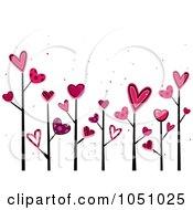 Valentine Doodle Trees
