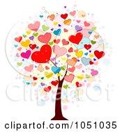 Valentine Doodle Tree 2