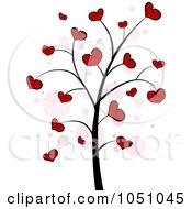 Valentine Doodle Tree 4