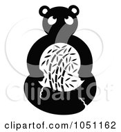 Royalty Free Vector Clip Art Illustration Of A Decorative Panda by Cherie Reve
