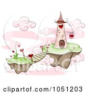 Tower On A Floating Valentine Island