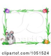 Floral Mouse Frame