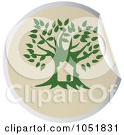 Green Tree Sticker Logo 2