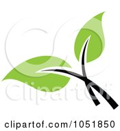 Royalty Free Vector Clip Art Illustration Of A Seedling Plant Ecology Logo 25