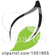 Royalty Free Vector Clip Art Illustration Of A Seedling Plant Ecology Logo 13