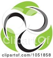 Royalty Free Vector Clip Art Illustration Of A Seedling Plant Ecology Logo 21
