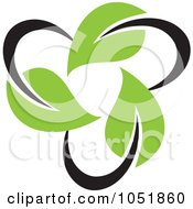 Royalty Free Vector Clip Art Illustration Of A Seedling Plant Ecology Logo 20