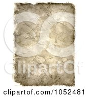 Royalty Free 3d Clip Art Illustration Of A 3d Grunge Texture Paper