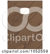 Royalty Free Vector Clip Art Illustration Of A Wooden Invitation Background With Copyspace 5