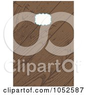 Royalty Free Vector Clip Art Illustration Of A Wooden Invitation Background With Copyspace 4