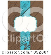 Royalty Free Vector Clip Art Illustration Of A Wooden Invitation Background With Copyspace 6