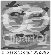 Background Of Gray Camouflage
