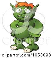 Green Male Monster