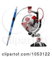 3d Web Crawler Robot Cam Drawing In Profile