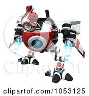 3d Web Crawler Robot Cam Searching