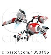 3d Web Crawler Robot Cam Flying High