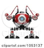 3d Web Crawler Robot Cam Facing Front