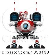 3d Web Crawler Robot Cam Facing Forward