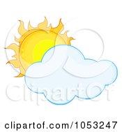 Full Sun Behind A Cloud by Hit Toon