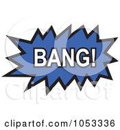 Royalty Free Vector Clip Art Illustration Of A Bang Comic Burst 4