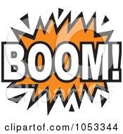 Royalty Free Vector Clip Art Illustration Of A Boom Comic Burst 4 by Prawny