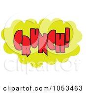 Royalty Free Vector Clip Art Illustration Of A Crunch Comic Burst 1 by Prawny