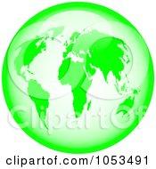 Royalty Free Clip Art Green Globe Clip Art