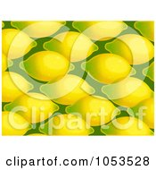Background Pattern Of Lemons