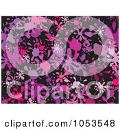 Royalty Free Clip Art Illustration Of A Background Pattern Of Splatters 7 by Prawny