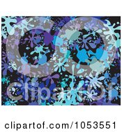 Royalty Free Clip Art Illustration Of A Background Pattern Of Splatters 6 by Prawny