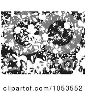 Royalty Free Clip Art Illustration Of A Background Pattern Of Splatters 1